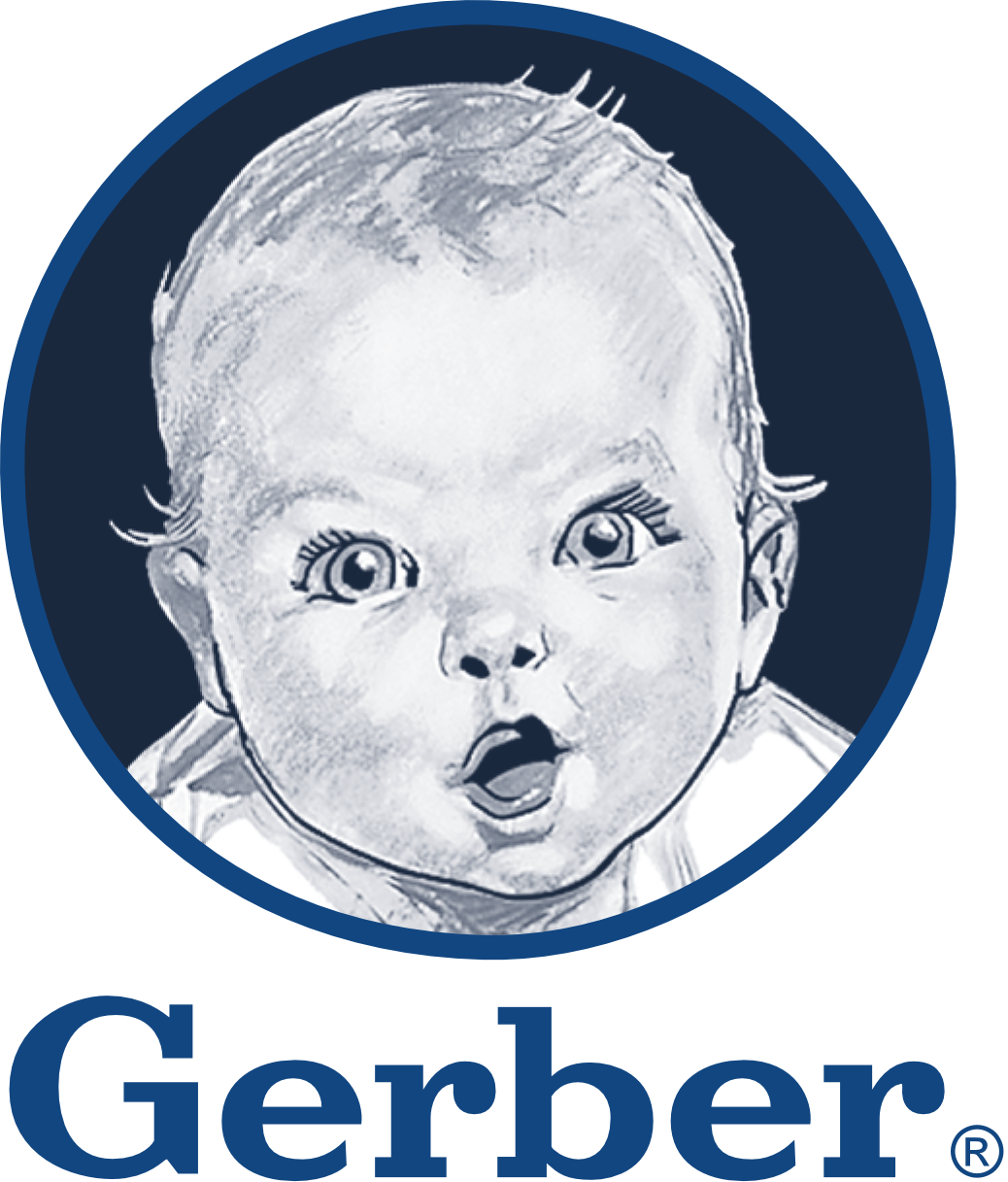 Gerber logo download free clipart with a transparent.