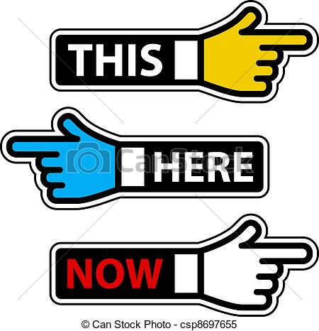 Be Here Now Clipart.