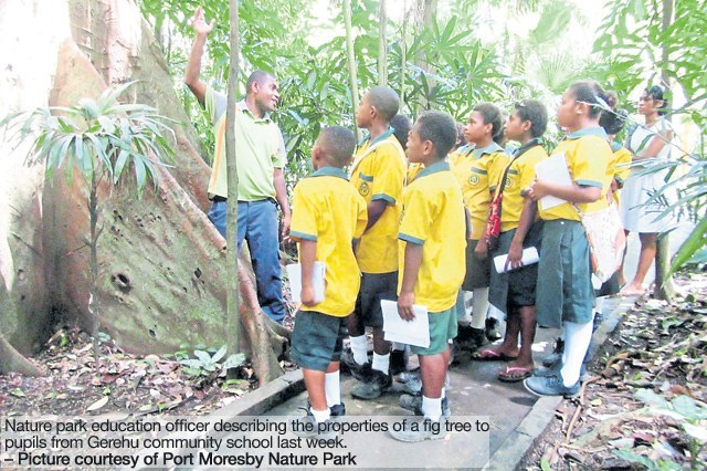 Students encouraged to protect animals unique to PNG.