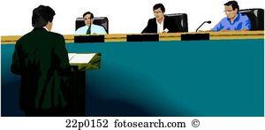Beauftragen gerichtshof Clip Art Illustrationen. 14 beauftragen.