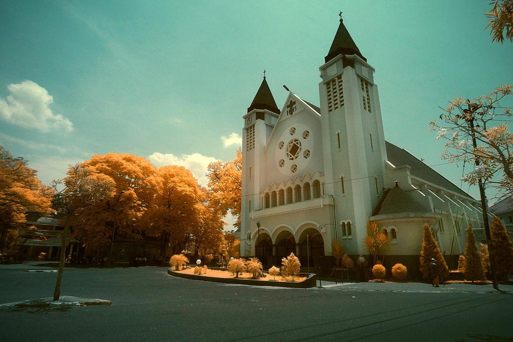 Gereja Katedral Ijen, Malang.