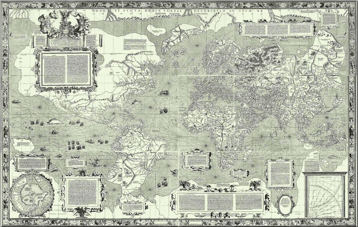 Mercator 1569.