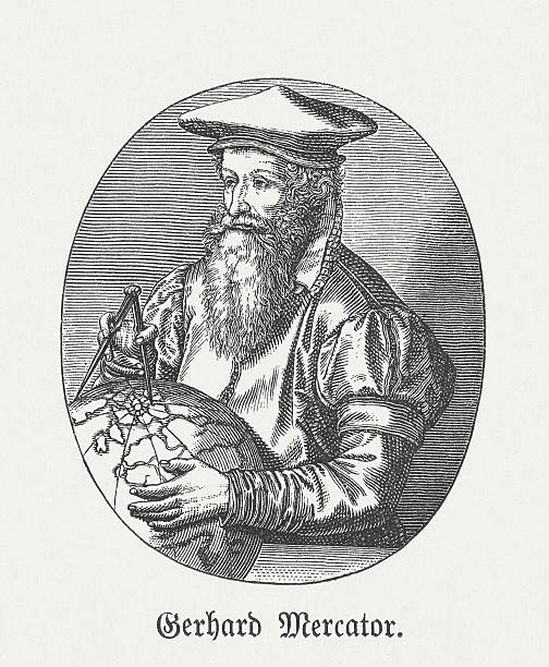 Gerardus Mercator Clip Art, Vector Images & Illustrations.