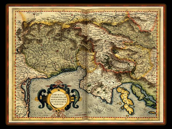 Gerhard Mercator 1595 World Atlas.