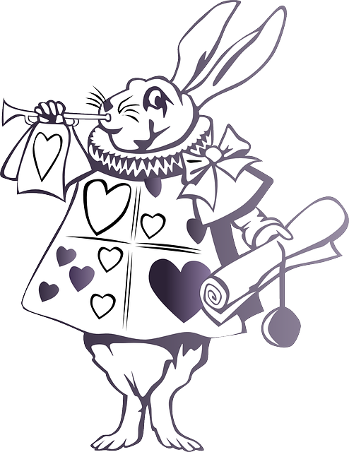 Free vector graphic: Alice In Wonderland, Rabbit, Story.