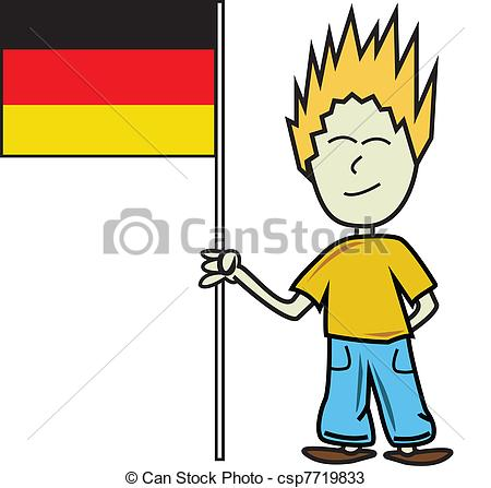 German person clipart.