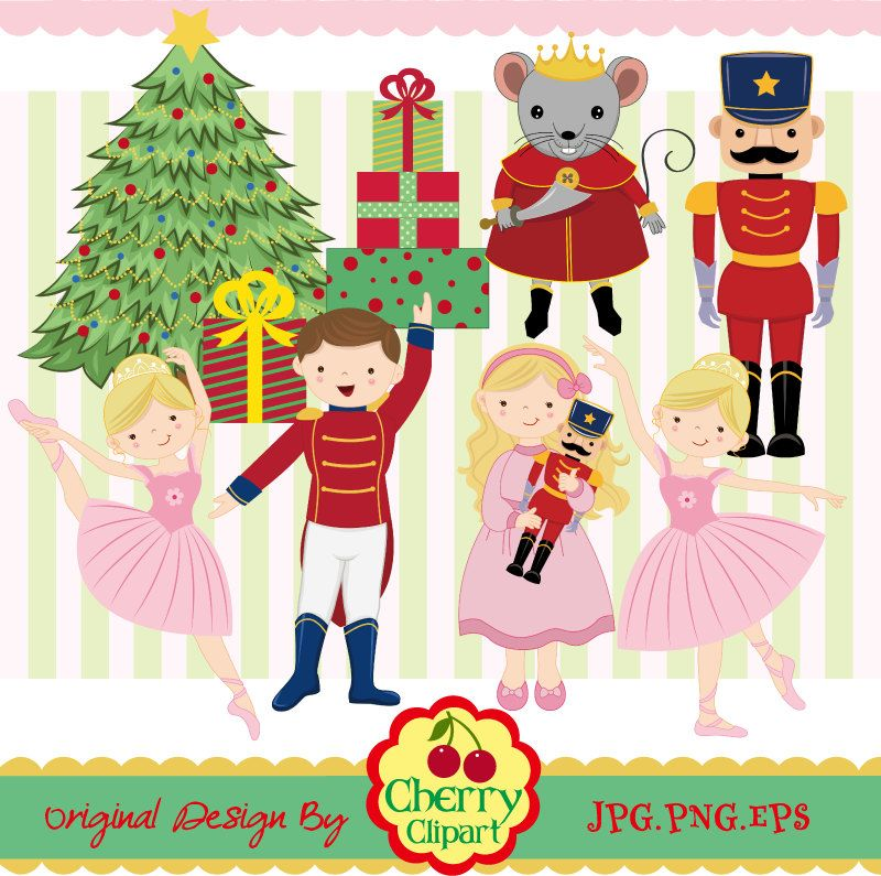 Free download Nutcracker Ballet Clipart for your creation.