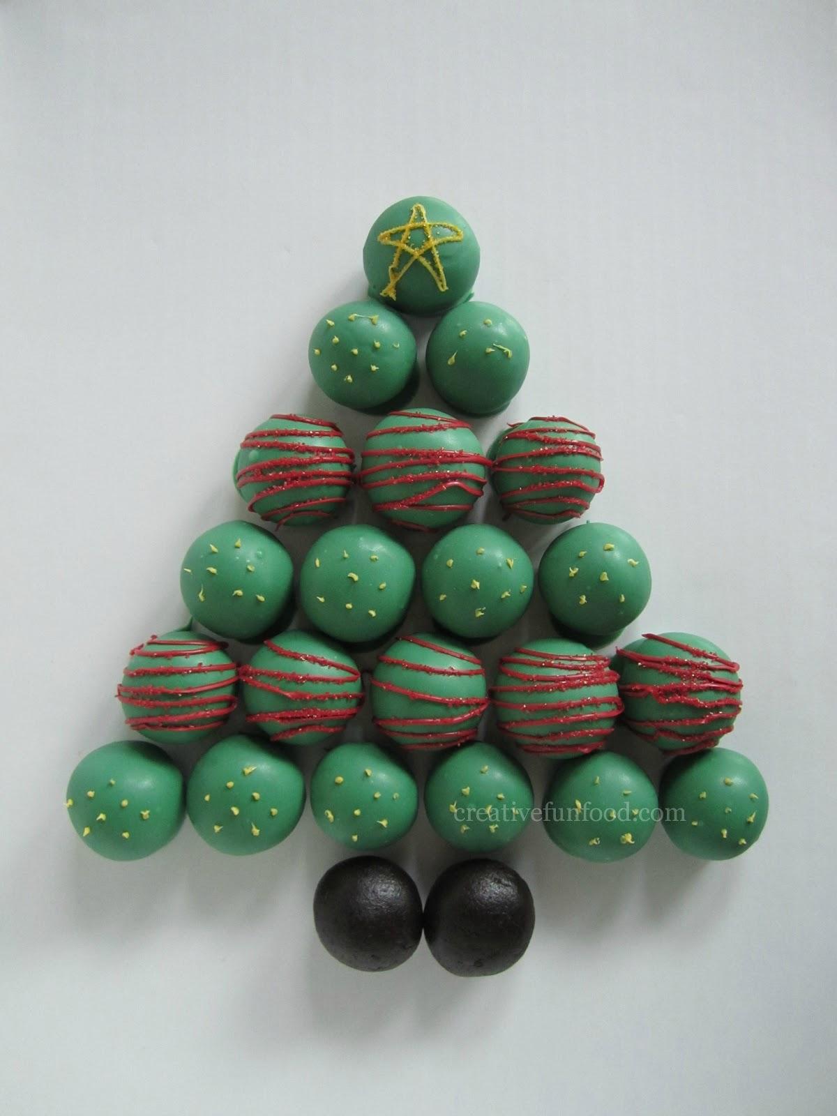 Food Ornaments Christmas Tree. Food Themed Christmas Tree.