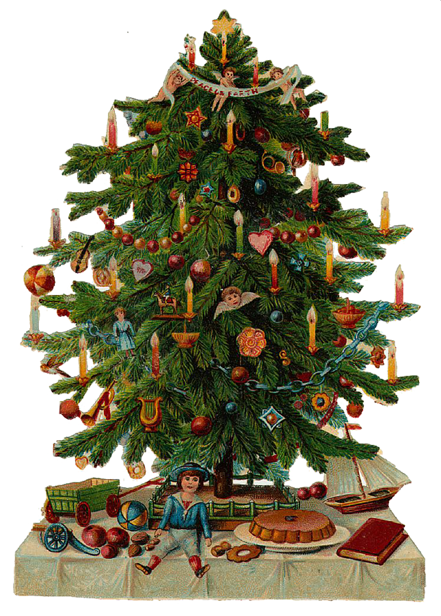 German Christmas Tree Clipart Png Clipground