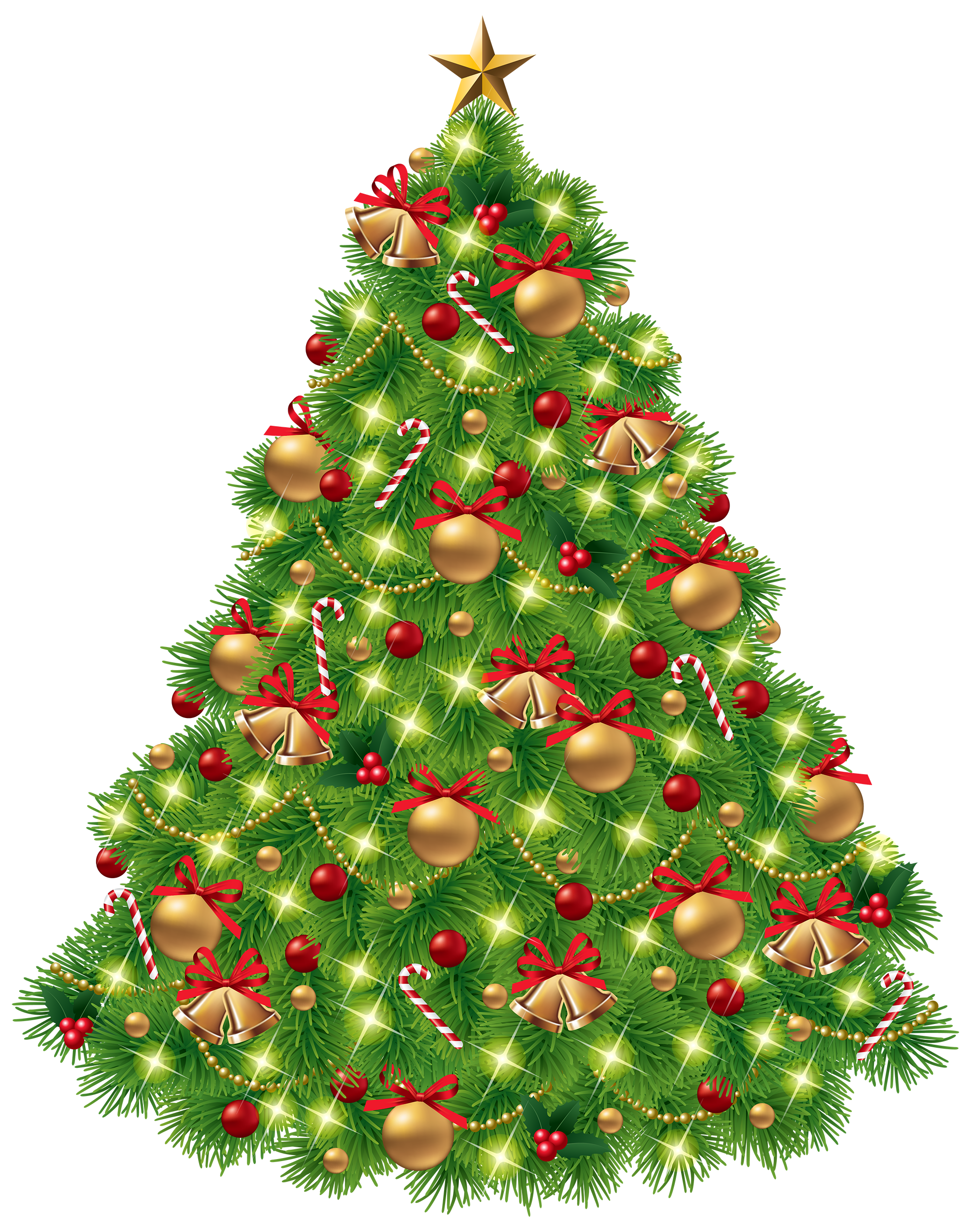 Christmas Tree PNG Clipart.