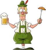 German Beer Clipart.