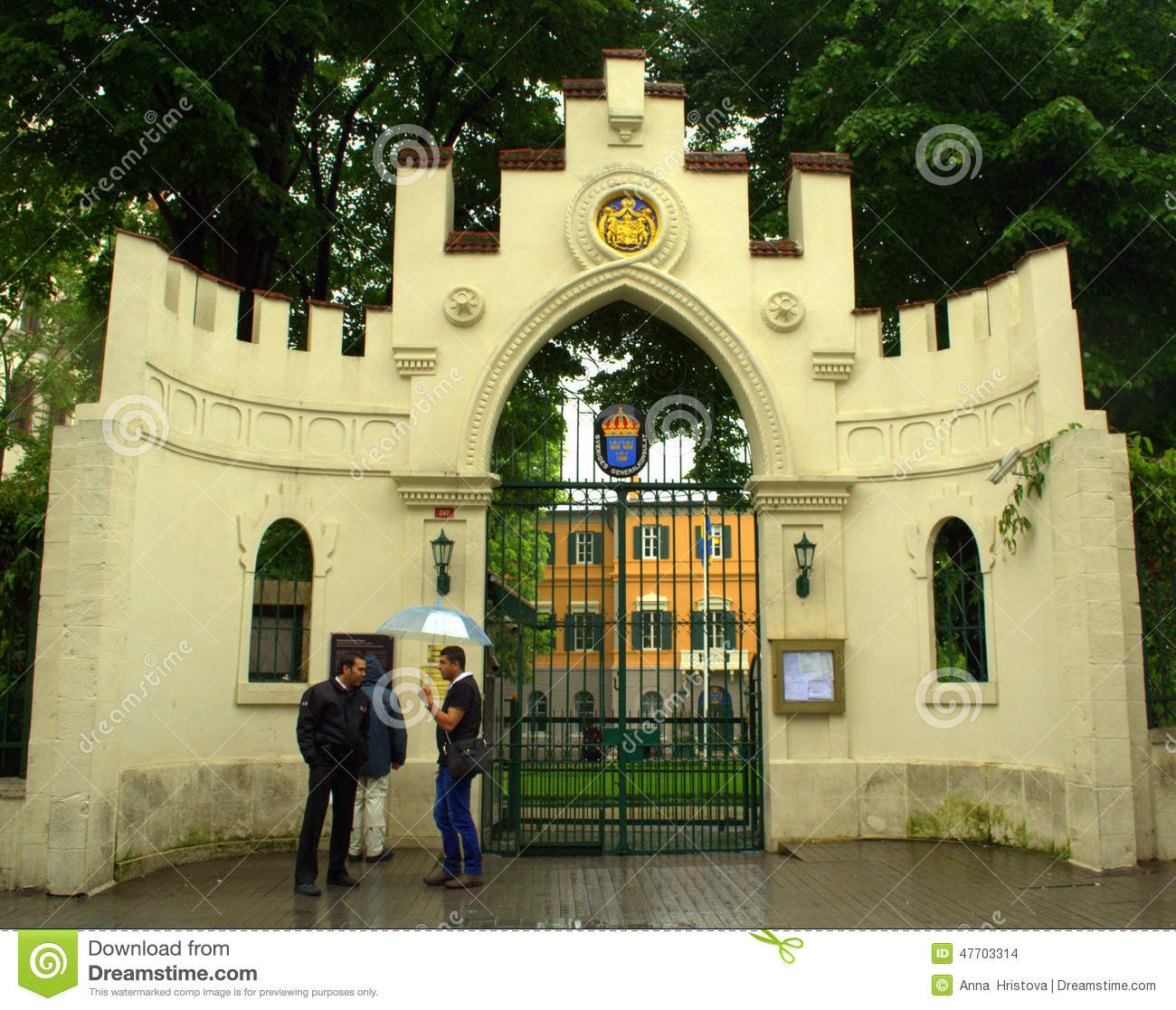 The Consulate General Of Germany In New York Editorial Stock Photo.