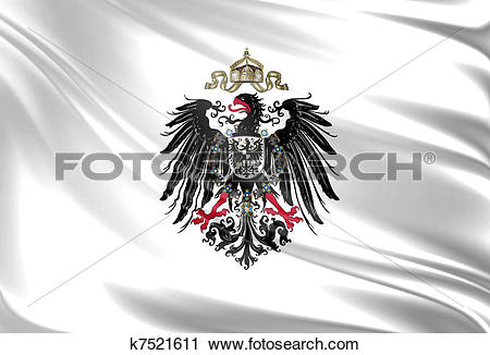 Clipart of Flag of German Empire k7521611.