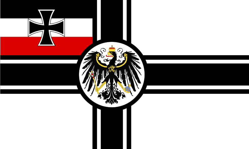 imperial german flag.