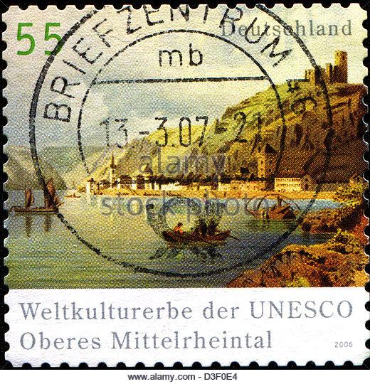 Germany German Federal Republic Rhineland Palatinate Stock Photos.