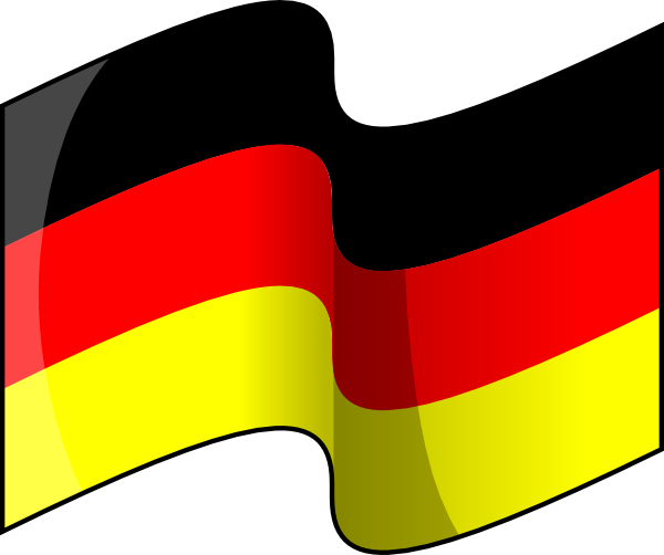 Waving German Flag clip art Free Vector / 4Vector.