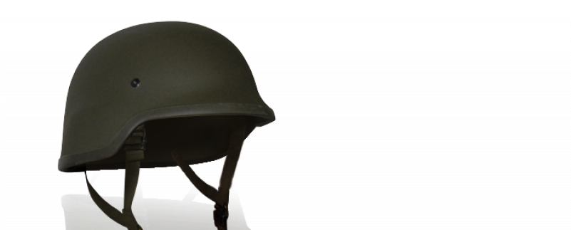 German Kevlar Helmet Chair.