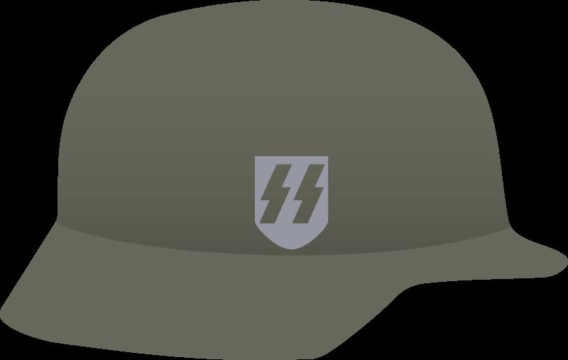 Free Clipart: Nazi helmet.