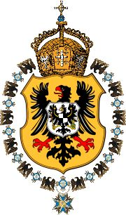 German Imperial Eagle of the German Empire from 1889.