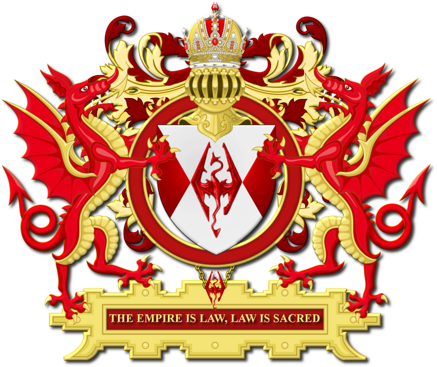 Coat of Arms of the Divine & Imperial House of Septim : heraldry.