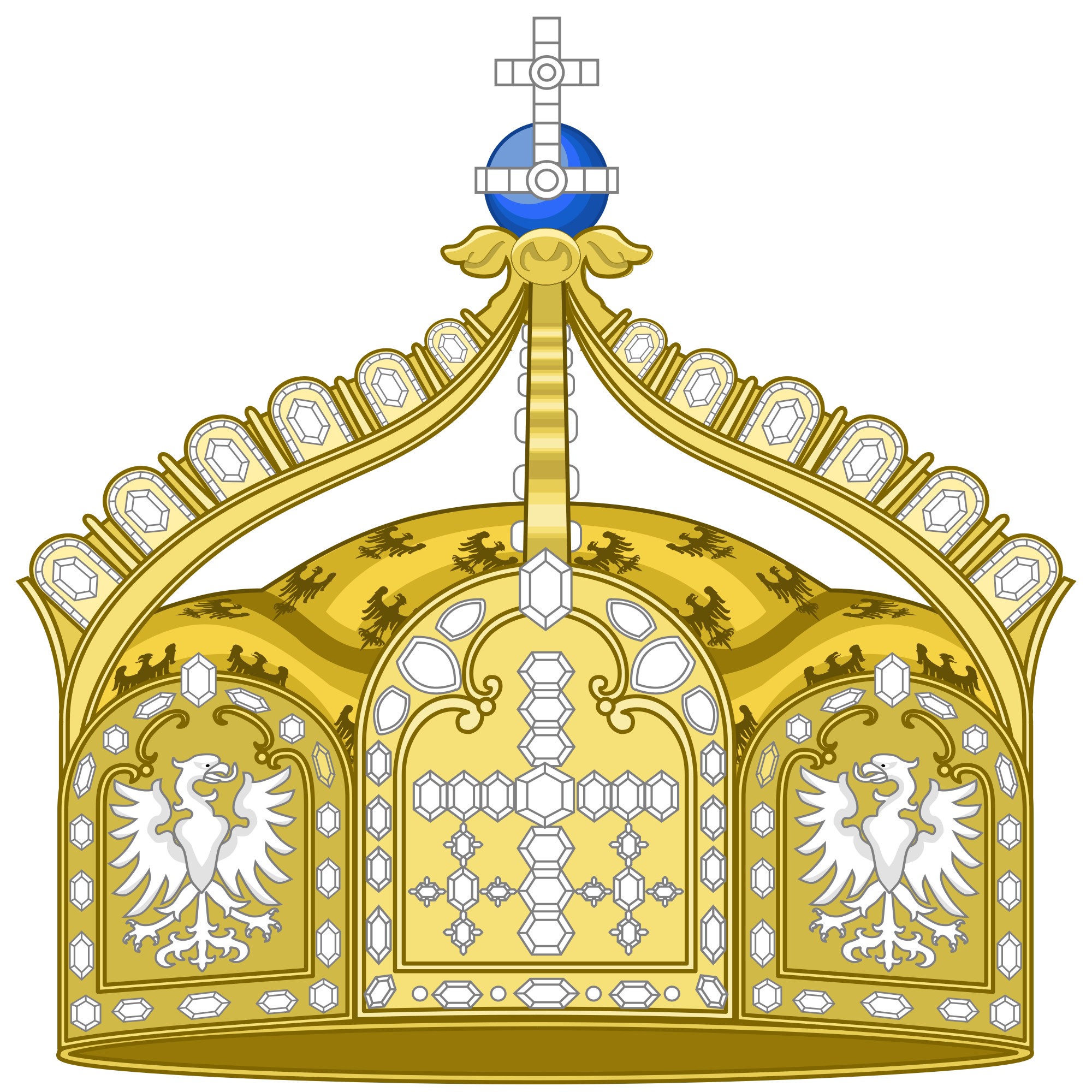 File:State Crown of the German Empire.svg.