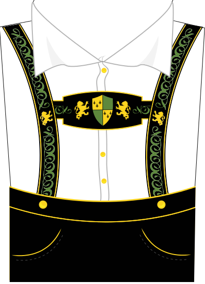 Suspenders And Lederhosen Clipart.