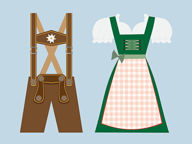 Best Lederhosen Illustrations, Royalty.