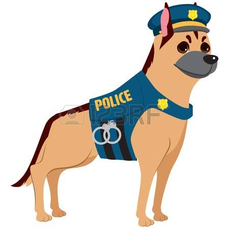 905 German Police Dog Stock Illustrations, Cliparts And Royalty.