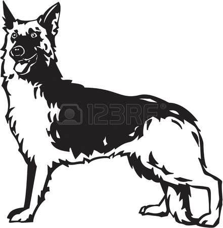 887 German Police Dog Stock Illustrations, Cliparts And Royalty.