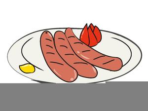 German Sausage Clipart.