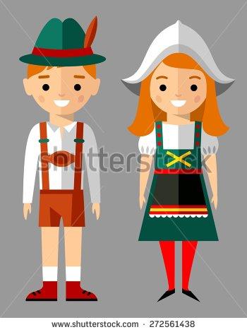 German People Clipart.