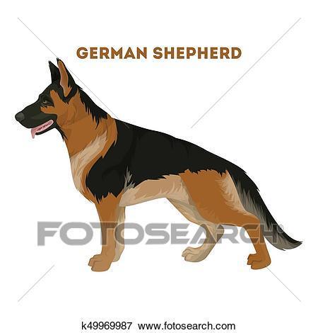 German shepherd clipart graphics 7 » Clipart Portal.