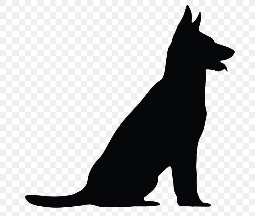 German Shepherd Vector Graphics Clip Art Silhouette Royalty.