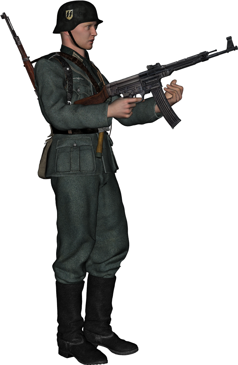 HD Nazi Soldier Png.