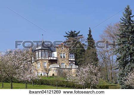 Stock Photograph of Villa Emilie rest, a former children's home.