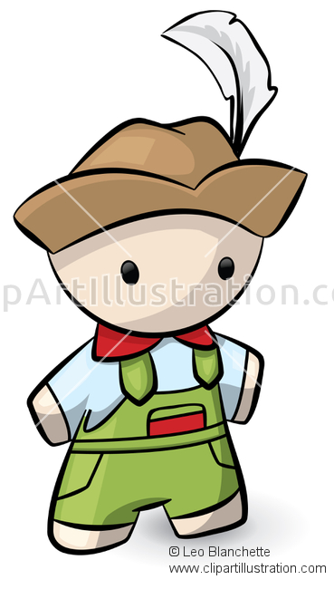 ClipArt Illustration of Swiss.