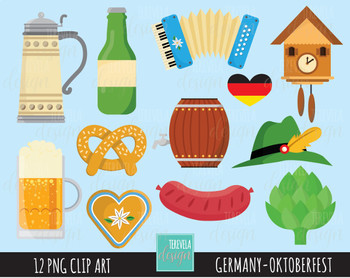 50% SALE GERMANY clipart, octoberfest clipart.