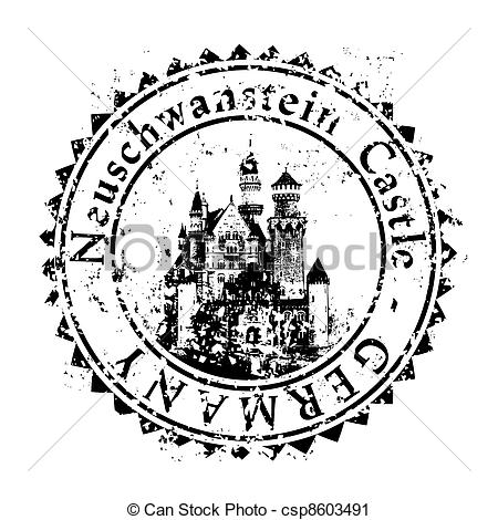 Vector Clip Art of Vector illustration of single isolated Germany.