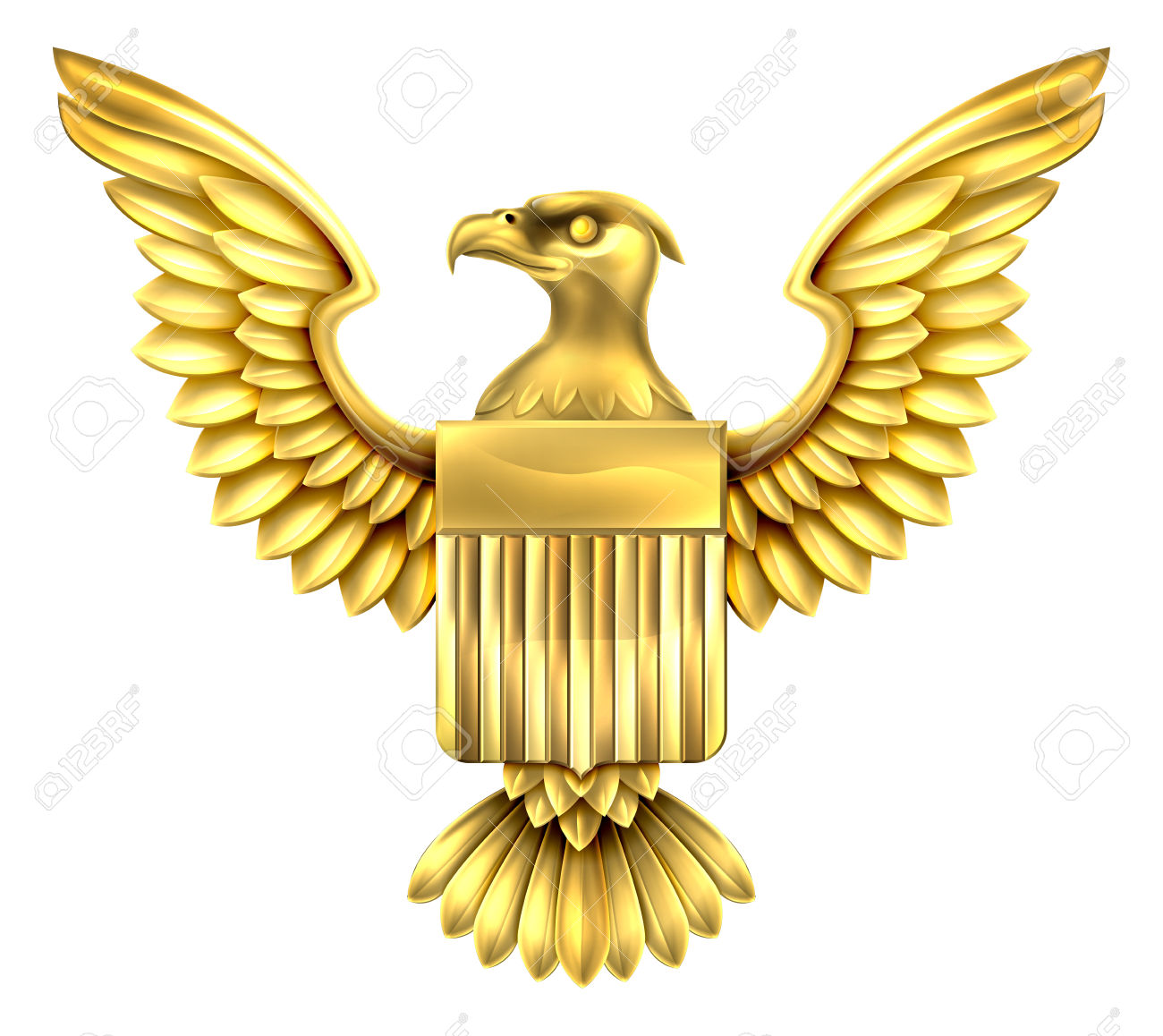 Eagle cross flag clipart.