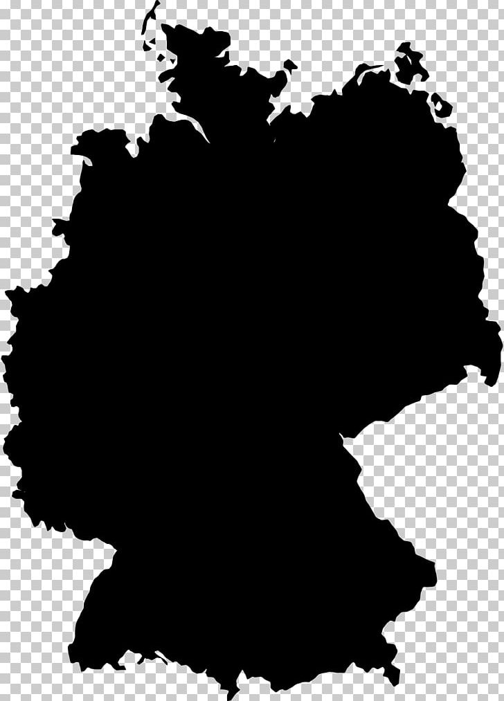 Flag Of Germany Map PNG, Clipart, Black, Black And White, Blank Map.