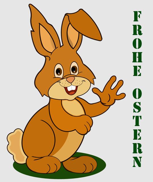 Frohe Ostern wünscht Ihnen/Euch das Kinderhort KiK.