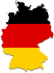 Free Animated German Flags.