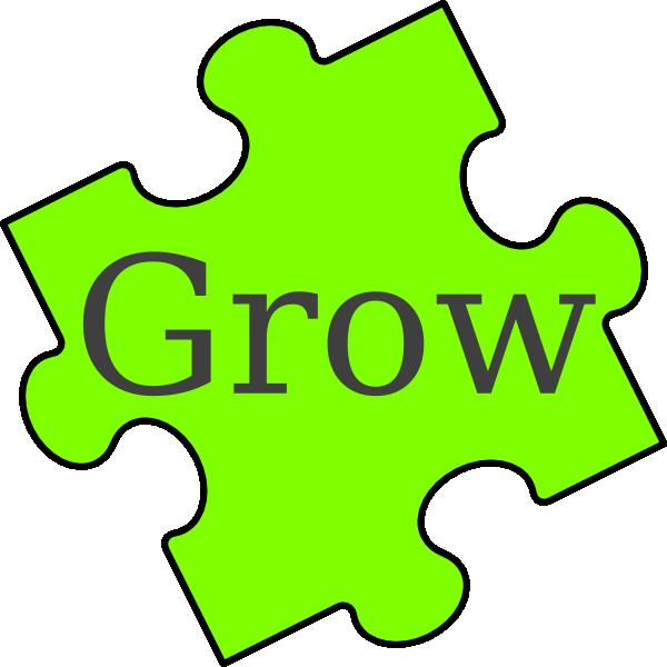 Puzzle Piece Grow Clip Art at Clker.com.