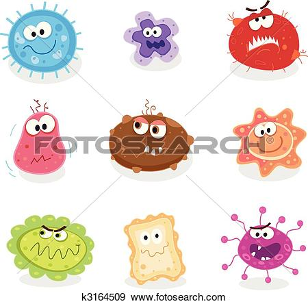 Stock Illustration of Germs germs.