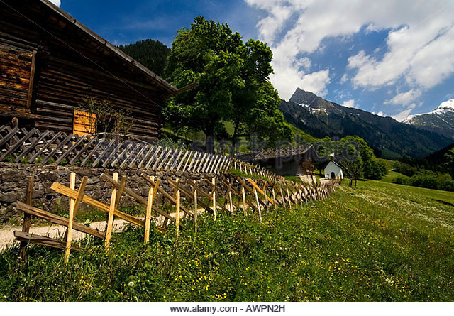 Log Cabins In Field Stock Photos & Log Cabins In Field Stock.