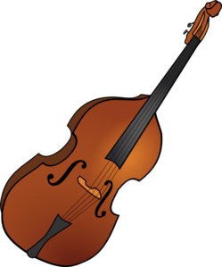 Double Bass Clip Art at Clker.com.