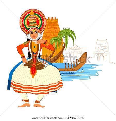 Kathakali Stock Images, Royalty.