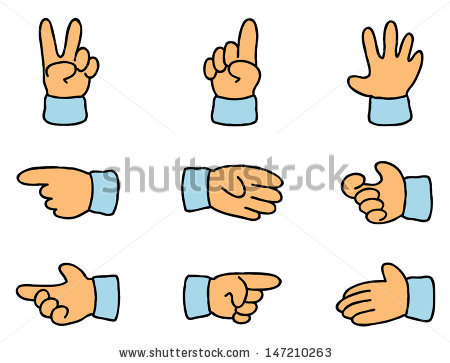 Gesticulation clipart #9