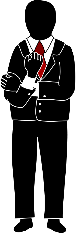 Free Clipart: Man Gesticulating.