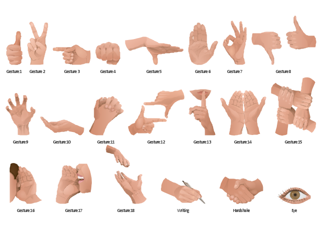 Gesture Clipart.